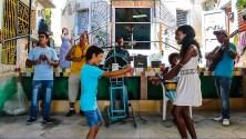 dancing to Mambu & Company