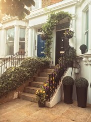 Cute home in Notting Hill I was taken by.