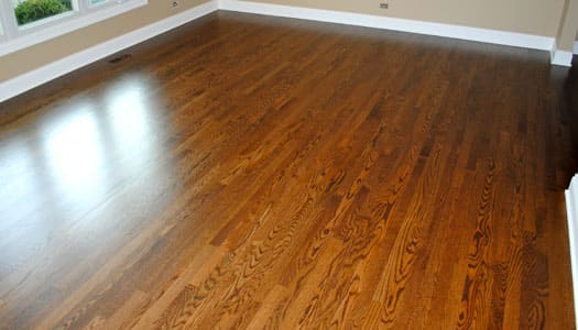 Amber Shellac On Pine Floors