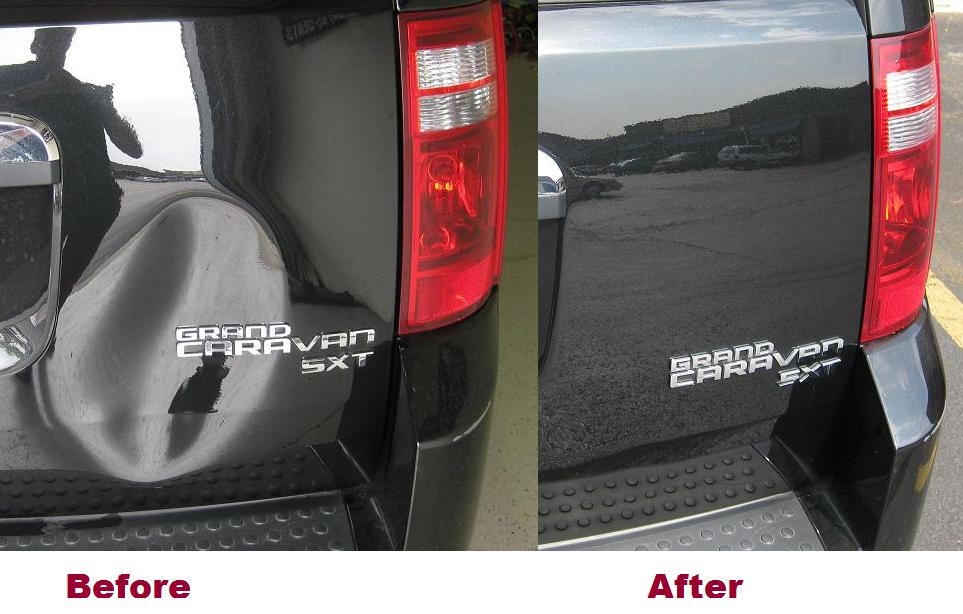 Paintless Dent Repair Removal in Naperville Illinois