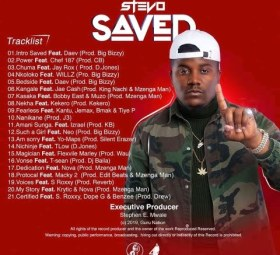 Stevo Saved Track list