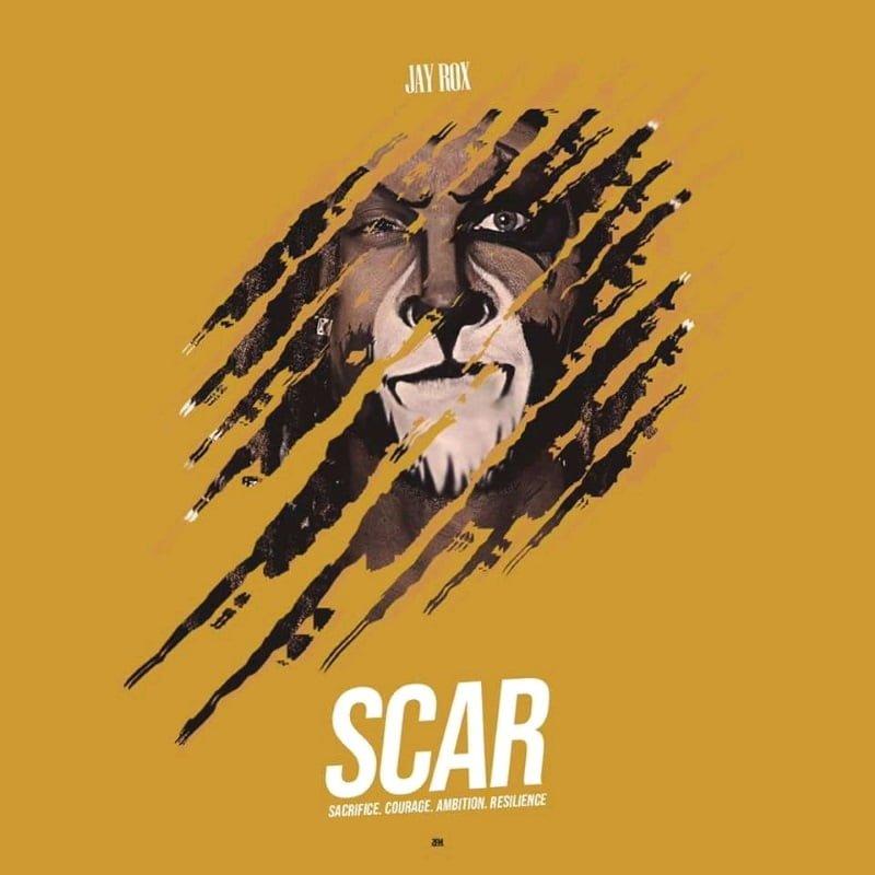 jay rox S.C.A.R album Art