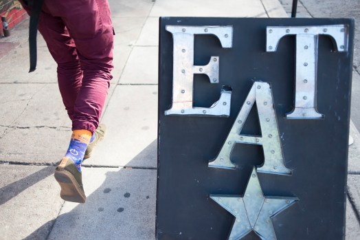 Eat With Nifty Socks by Eric Edge