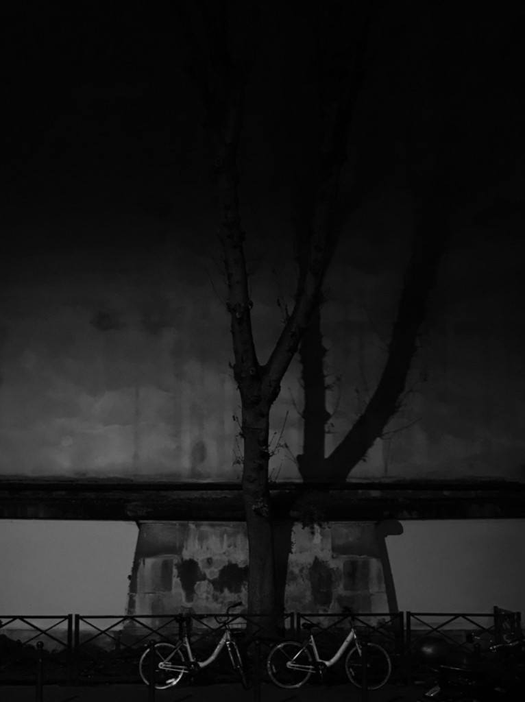 """Honorable Mention: """"Shadows at Night"""" by Peter Livadas, Class 2"""