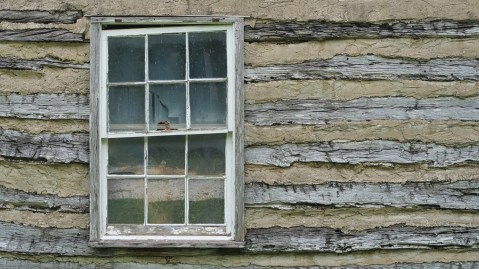 Old Window by Jim McDaniel