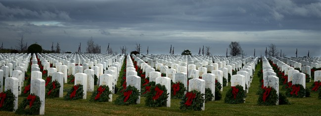 """Wreaths Across America"" by Jim Smith"
