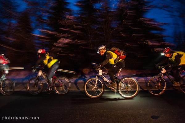 nocny rower