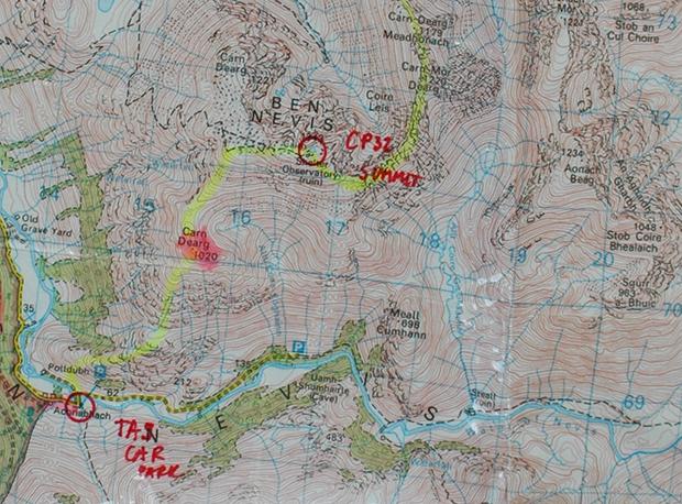 Wspinaczka na najwyższy szczyt Szkocji - Ben Nevis pod sam koniec rajdu
