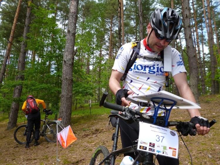Mazurskie Tropy 2015 etap rowerowy. Fot. Materiały Organizatora