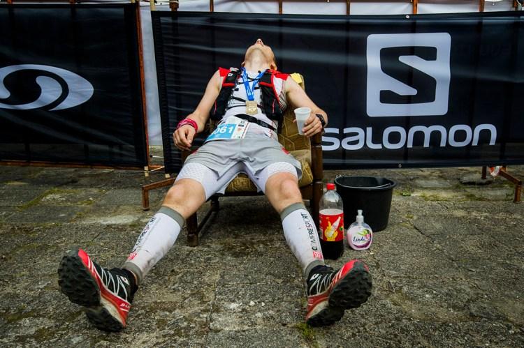 Odpoczynek po Super Trail 130 w ramach DFBG. Fot. Piotr Dymus