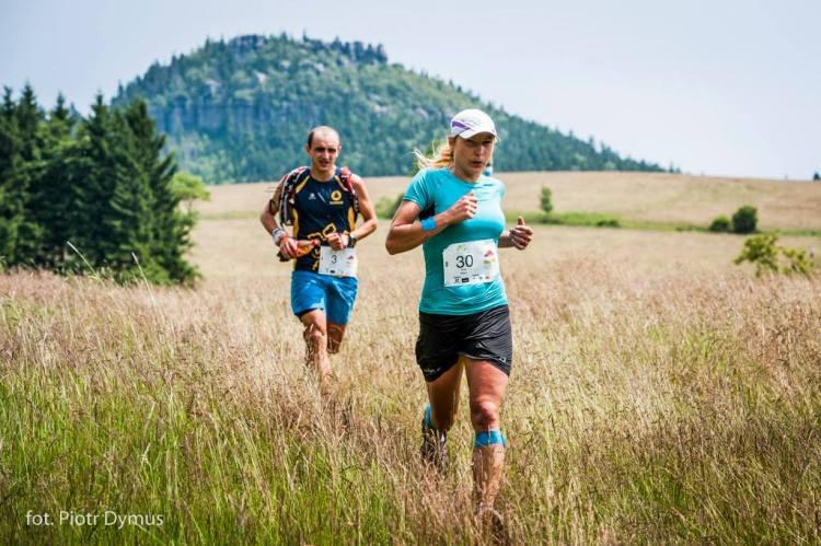 Supermaraton Gór Stołowych. Ewa Majer, zwyciężczyni z 2014 roku. Fot. Materiały organizatora