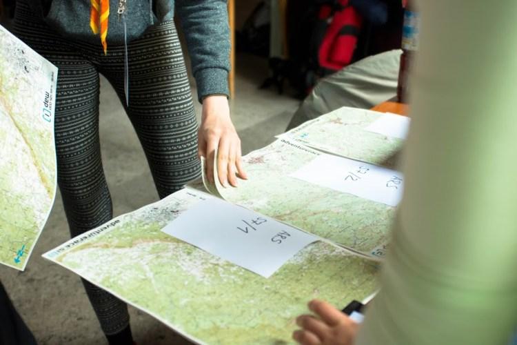 Mapa Adventure Race Slovenia 2016. Fot. Materiały organizatora