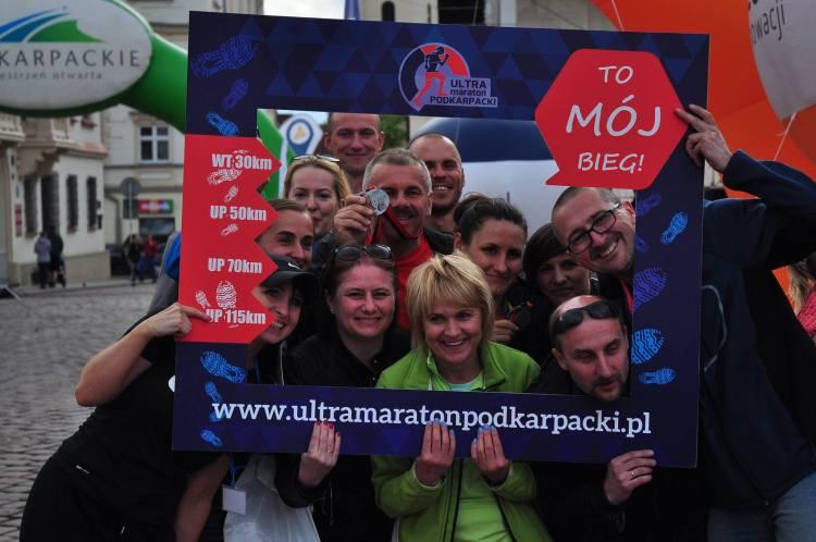 Ultramaraton Podkarpacki - trzy lata temu od tej imprezy zaczęła się Tomka przygoda z biegami ultra. Fot. Janusz Jędrzejczyk