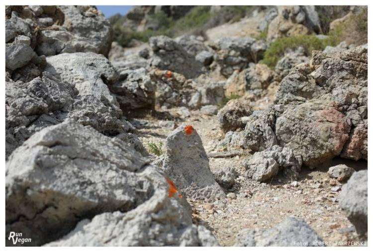 Znaczniki trasy na Heroes Ultra Crete. Fot. Robert Zakrzewski