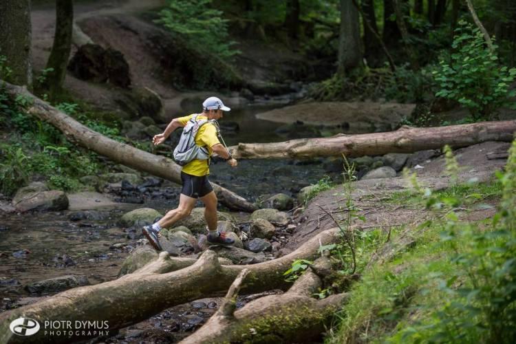 Łukasz Zwoliński na Tricity Trail. Fot. Piotr Dymus