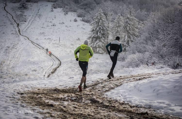 Na poprzedniej jesiennej edycji Piekła Czantorii na górze był śnieg i mróz. Fot. Jacek Deneka