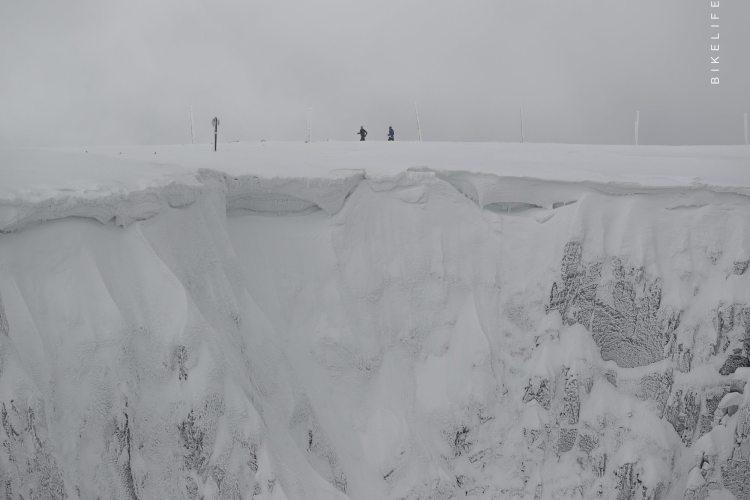 Śnieżne kotły. ZUK 2017. Fot. Bikelife