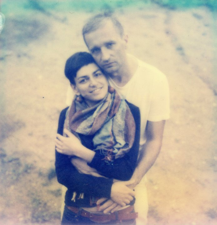 Fot. Z żoną Gosią. Fot. Adam Ostrowski