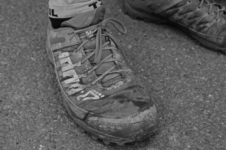 Buty, które pokonały GSB. Fot. Krzysztof Dołęgowski