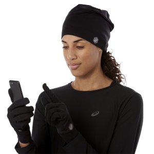 Asics czapka i rękawiczki. Running pack