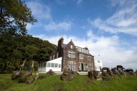 September 2012 Flodigarry Country House Hotel, Isle of Skye, Scotland, UK