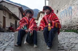 October 2006 Aguas Calientes, Cusco Region, Urubamba Province, Peru