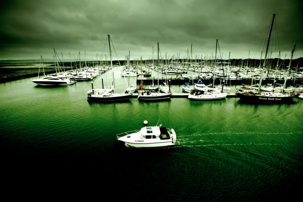 May 2011 Isle of Wight, English Channel, UK
