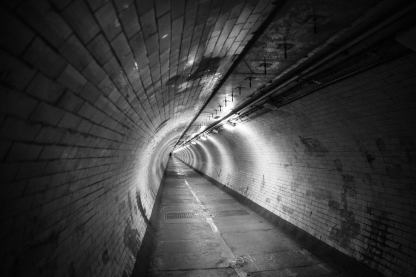 November 2012 Greenwich foot tunnel, London, UK