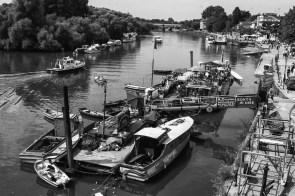 August 2006 River Thames, Richmond, UK
