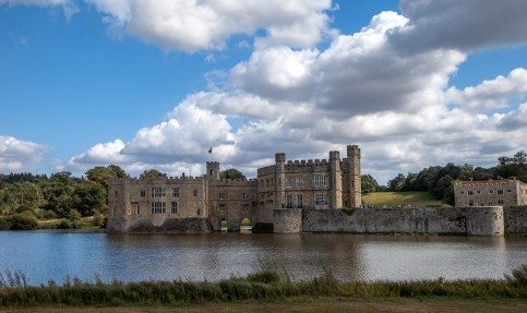 August 2009 Leeds Castle, Maidstone, Kent, UK