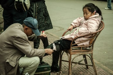 November 2008 Leshan, Qingyi river, Sichuan, China