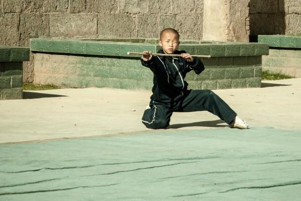 November 2008 Shaolin, China