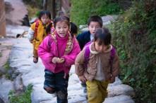November 2008 Ping An village, China