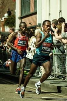 April 2013 London Marathon 2013, Westferry Rd/Eastferry Rd, Isle of Dogs, London