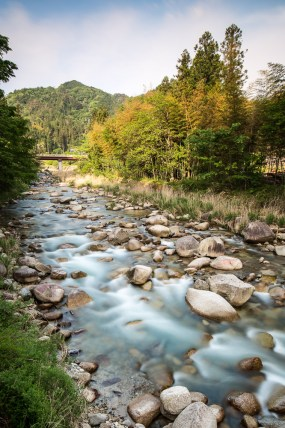 May 2013 Kiso Valley (木曾谷 Kiso-dani), Kiso River, Nagano Prefecture, Japan