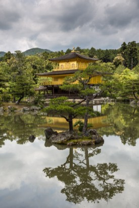 """May 2013 Kinkaku-ji (金閣寺), """"Temple of the Golden Pavilion"""", Kyoto, Japan"""