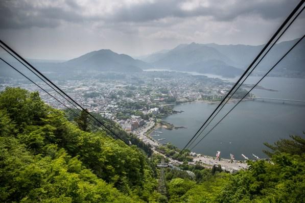 May 2013 Cable car, Fujiyoshida, Mount Fuji (富士山), Japan