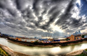 September 2013 Bow Creek, River Thames, East India Dock, London, UK