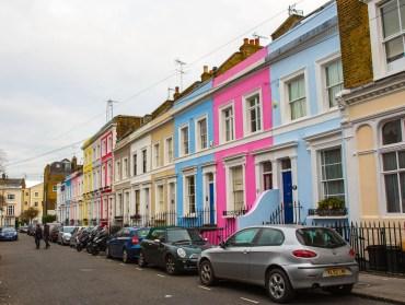 December 2013 Notting Hill, London, UK