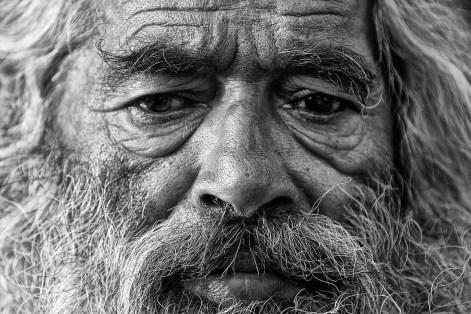 November 2007 Old man in Shimla, Himachal Pradesh, India, Asia