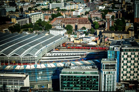 July 2014, From the top of London Eye, London, UK