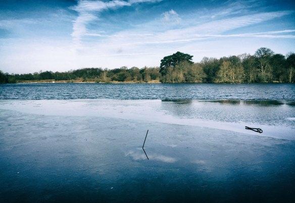 January 2015, Hatfield Forest Lake, Hatfield, UK
