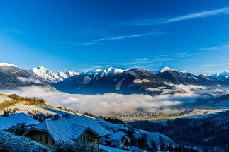 Morning view, December 2014, Kronplatz, Italy