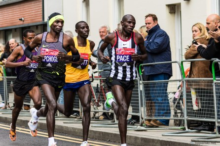 April 2016, London Marathon, Isle of Dogs, London, UK