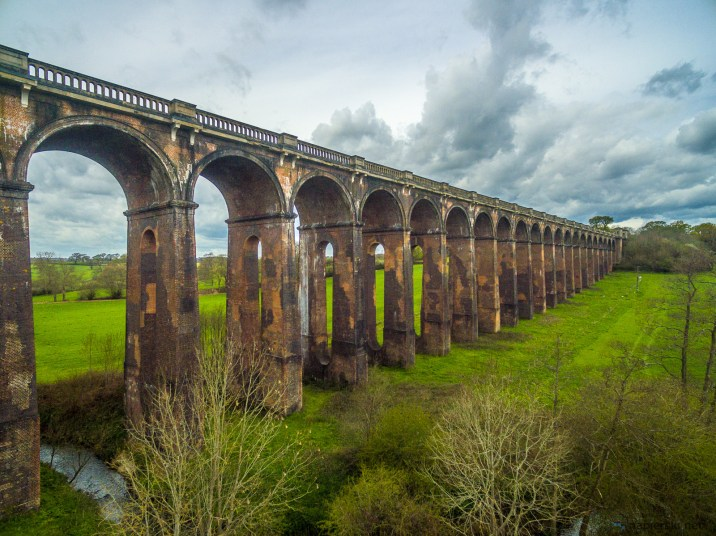 April 2016, Ouse Valley Viaduct, UK