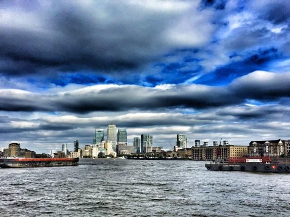 July 2016, Thames River, London, UK
