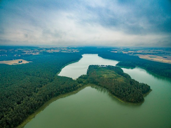 July 2017, Sosno Lake, Brodnica Landscape Park, Poland