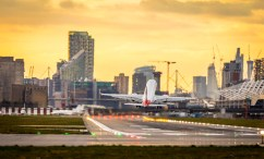 November 2017, London City Airport, Docklands, London, UK