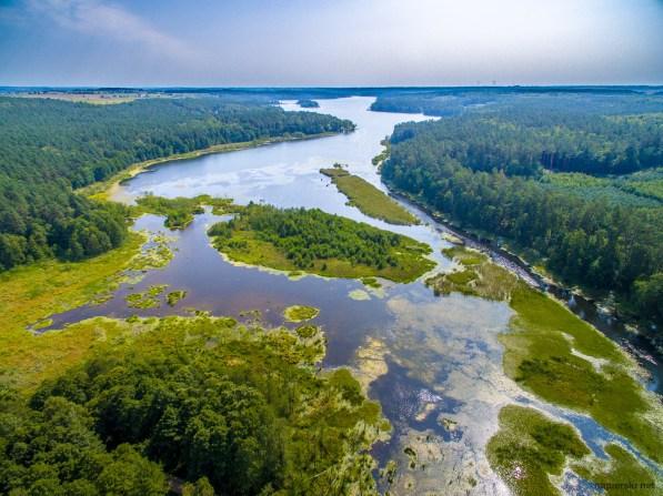August 2018, Bachotek Lake, Brodnicki Ecological Park, Poland