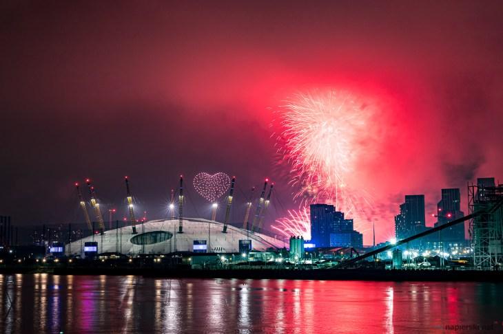 January 2021, Isle of Dogs, London, UK